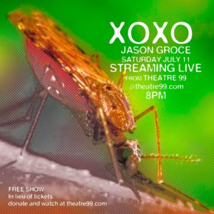 Best Local Comic Jason Groce on Facebook LIVE @ Your home via the internet - live from the Theatre 99 stage!